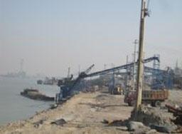 Jilin fusong sand factory